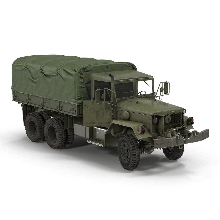 Коллекция грузовых военных автомобилей royalty-free 3d model - Preview no. 28