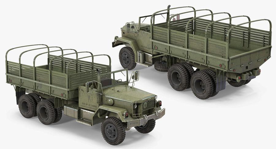 Коллекция грузовых военных автомобилей royalty-free 3d model - Preview no. 20