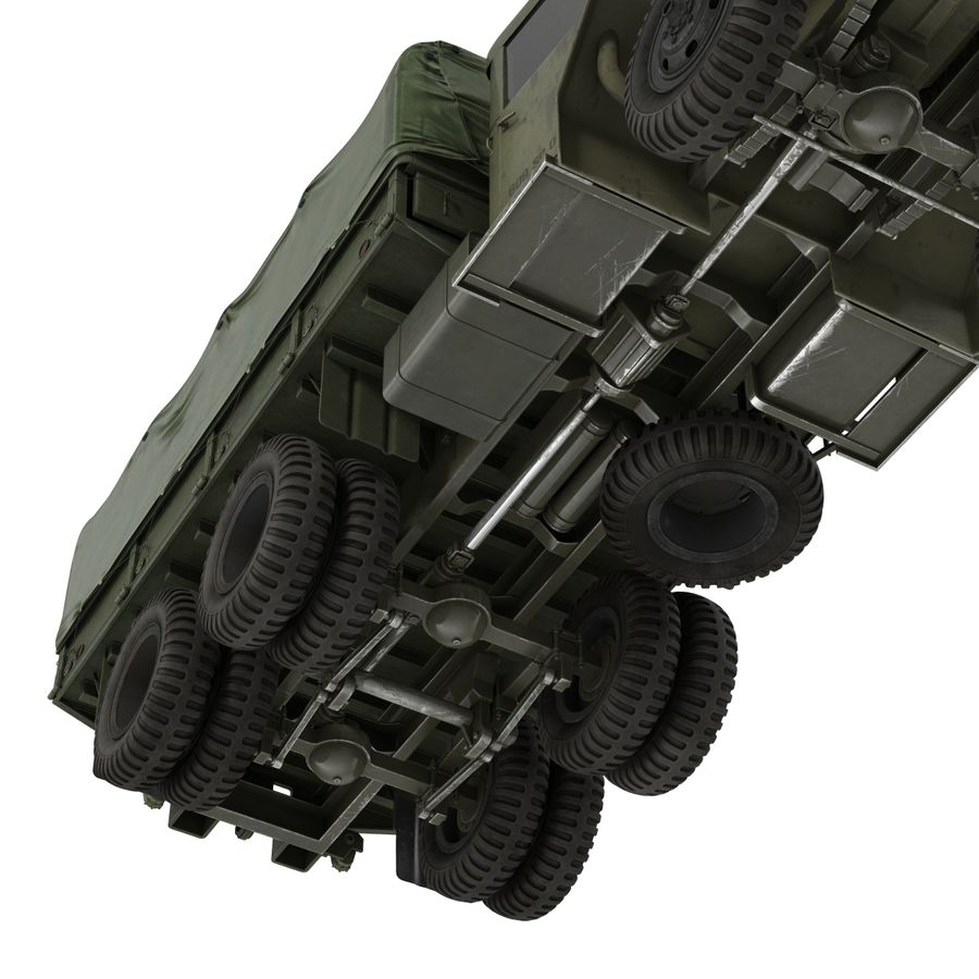 Коллекция грузовых военных автомобилей royalty-free 3d model - Preview no. 38