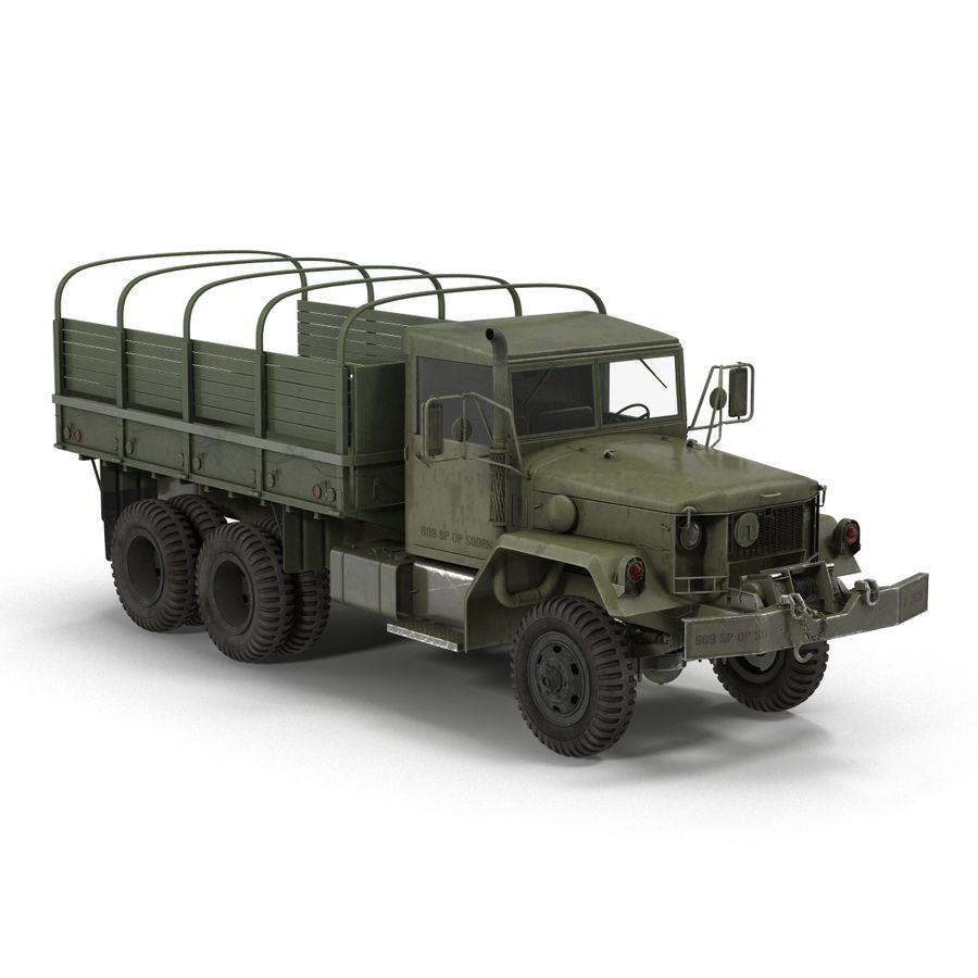 Коллекция грузовых военных автомобилей royalty-free 3d model - Preview no. 29