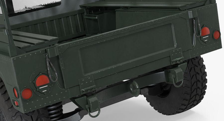 Коллекция грузовых военных автомобилей royalty-free 3d model - Preview no. 13