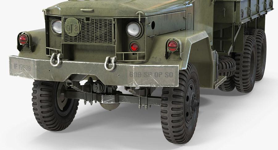 Коллекция грузовых военных автомобилей royalty-free 3d model - Preview no. 21