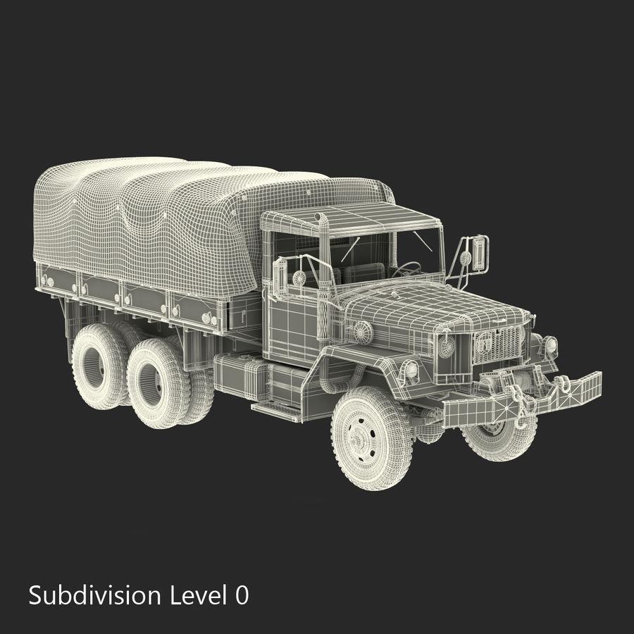Коллекция грузовых военных автомобилей royalty-free 3d model - Preview no. 45