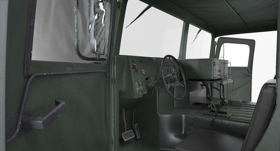 Коллекция грузовых военных автомобилей royalty-free 3d model - Preview no. 14