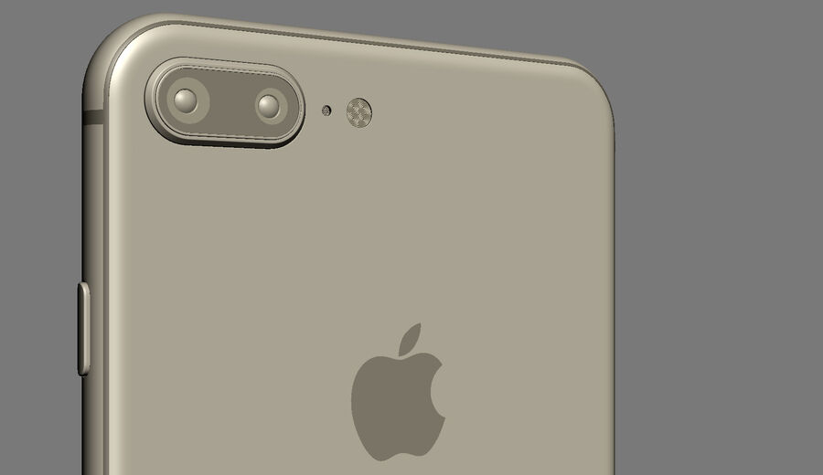 Apple Electronics Collection 2017 v1 royalty-free 3d model - Preview no. 66
