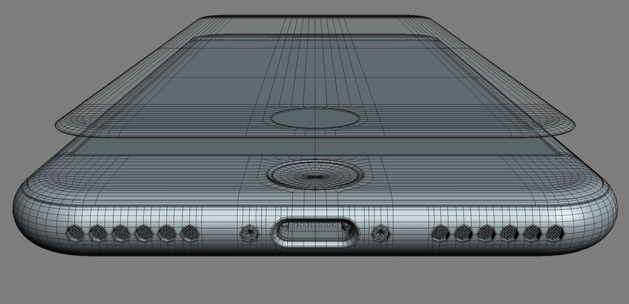 Apple Electronics Collection 2017 v1 royalty-free 3d model - Preview no. 48