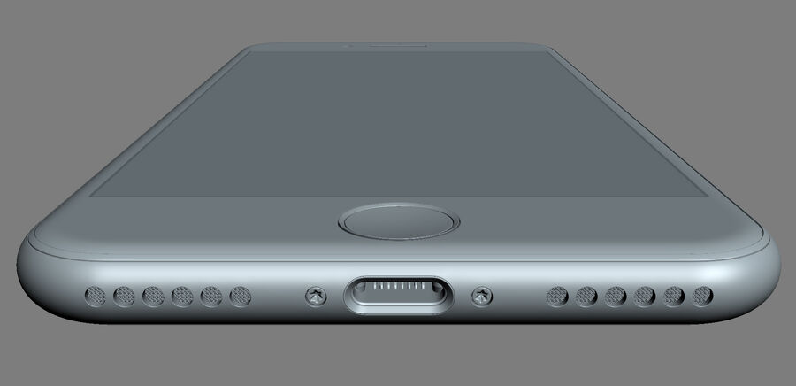 Apple Electronics Collection 2017 v1 royalty-free 3d model - Preview no. 47