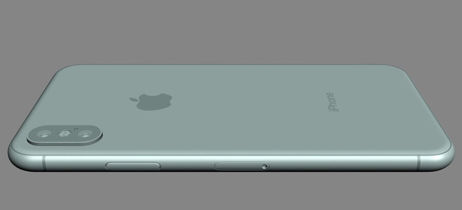 Apple Electronics Collection 2017 v1 royalty-free 3d model - Preview no. 25