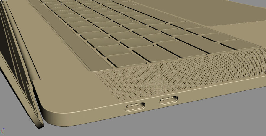 Apple Electronics Collection 2017 v1 royalty-free 3d model - Preview no. 90
