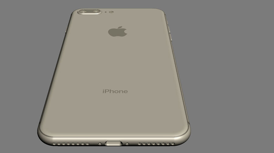 Apple Electronics Collection 2017 v1 royalty-free 3d model - Preview no. 64