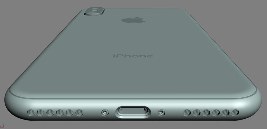 Apple Electronics Collection 2017 v1 royalty-free 3d model - Preview no. 31