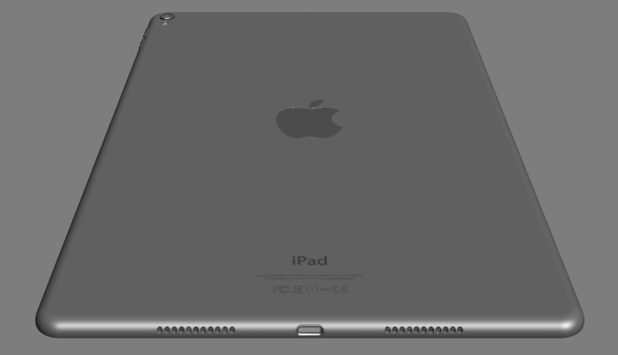 Apple Electronics Collection 2017 v1 royalty-free 3d model - Preview no. 136
