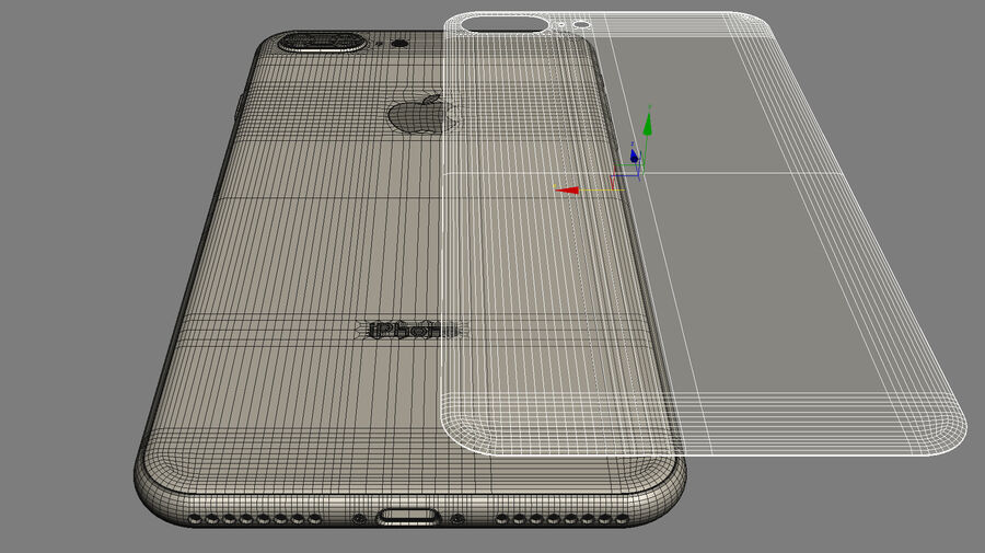 Apple Electronics Collection 2017 v1 royalty-free 3d model - Preview no. 65