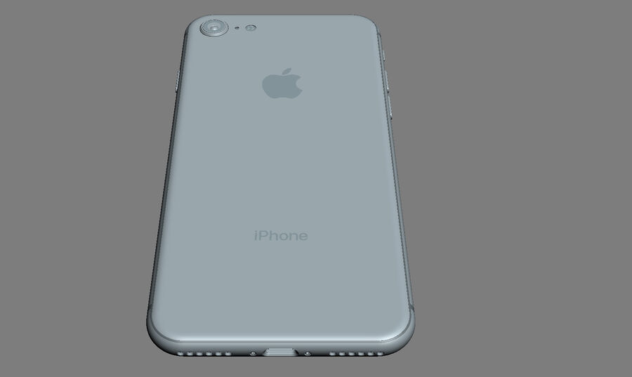 Apple Electronics Collection 2017 v1 royalty-free 3d model - Preview no. 43