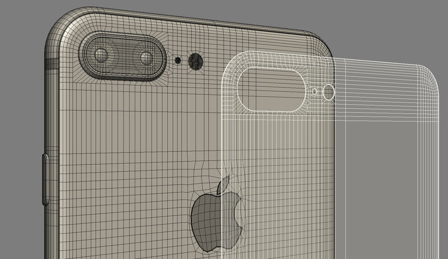 Apple Electronics Collection 2017 v1 royalty-free 3d model - Preview no. 67
