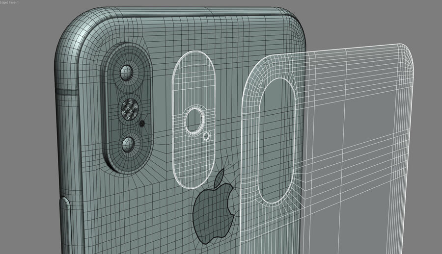 Apple Electronics Collection 2017 v1 royalty-free 3d model - Preview no. 28