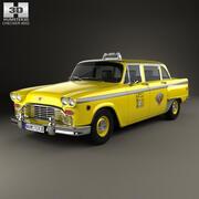 Checker Marathon (A12) Taxi 1978 3d model