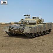 Al-Khalid MBT-2000 3d model