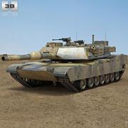 M1A1エイブラムス 3d model