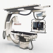 Medical Siemens C-Arm 3d model