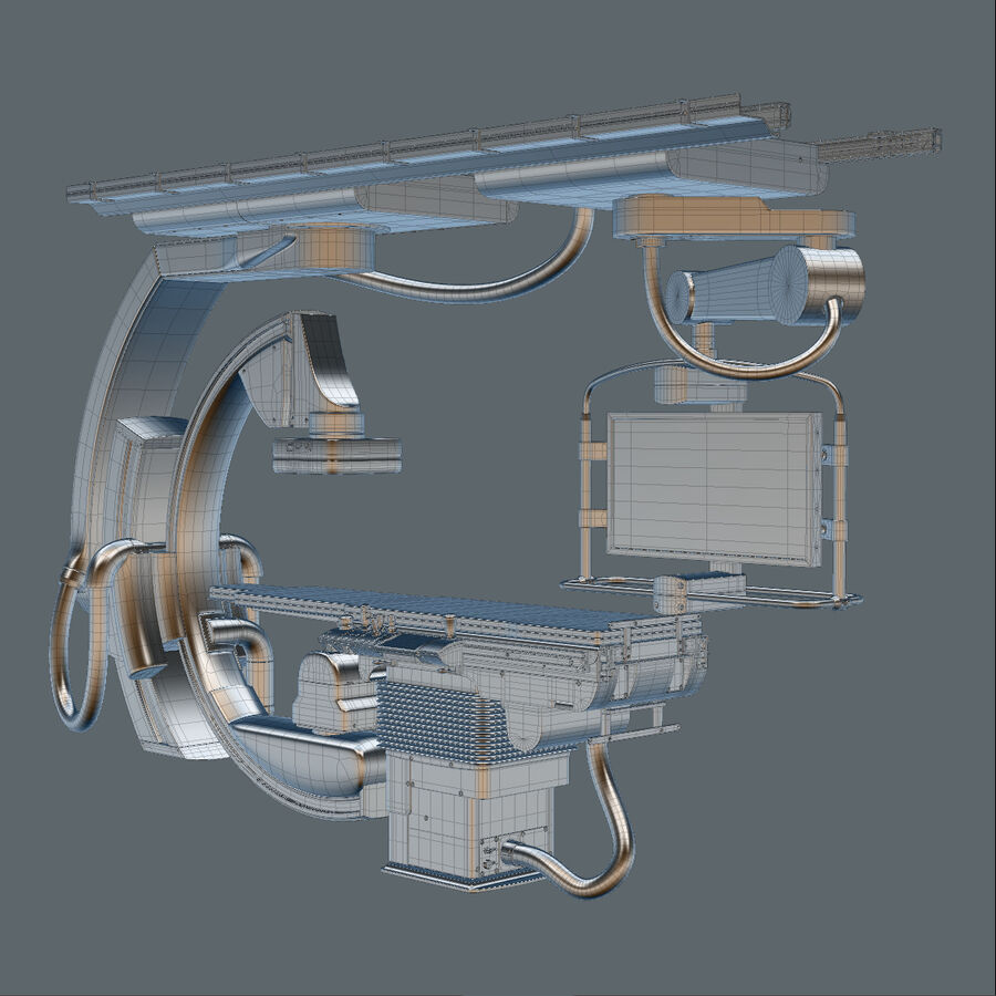 Medical Siemens C-Arm royalty-free 3d model - Preview no. 5