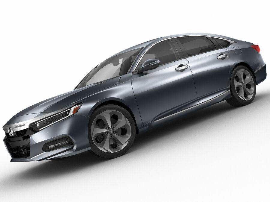 Honda Accord 2018 royalty-free 3d model - Preview no. 8