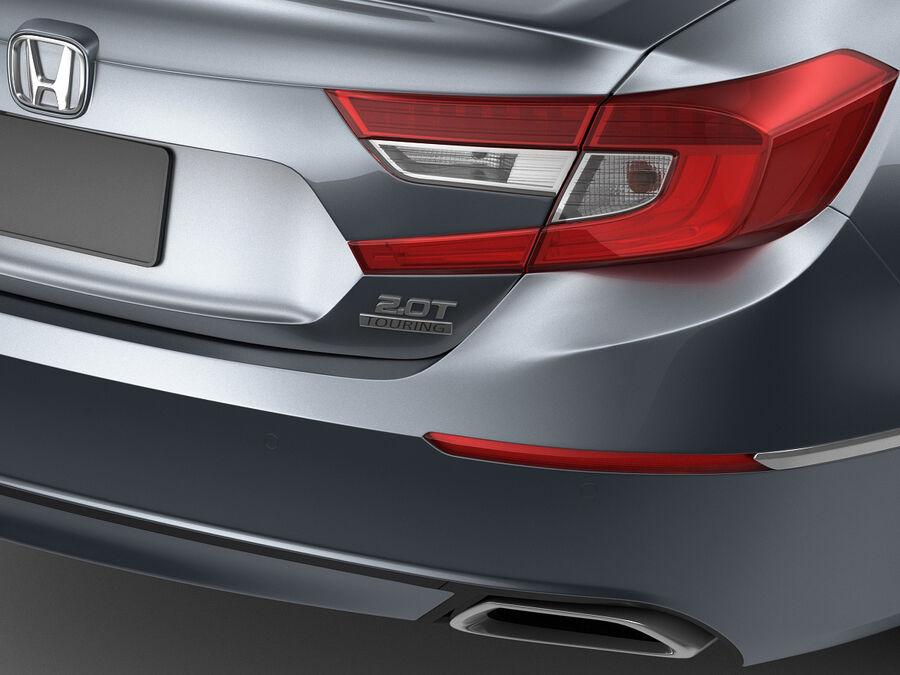 Honda Accord 2018 royalty-free 3d model - Preview no. 5