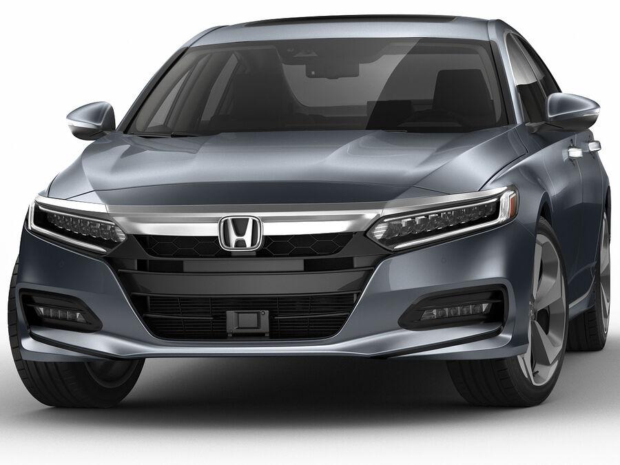 Honda Accord 2018 royalty-free 3d model - Preview no. 11