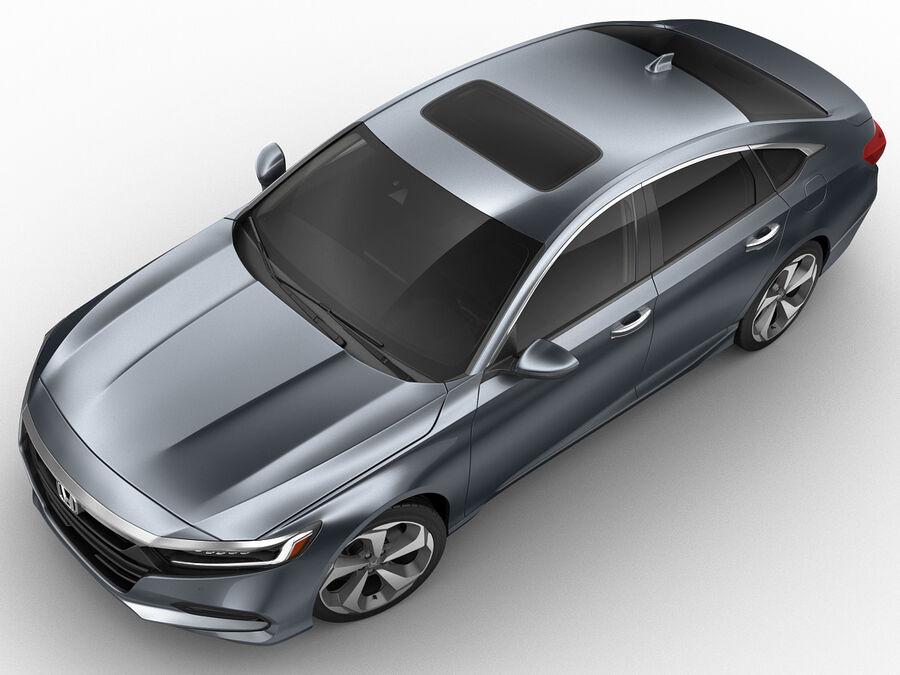 Honda Accord 2018 royalty-free 3d model - Preview no. 6