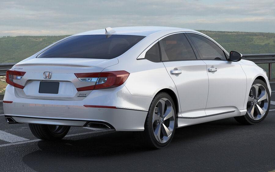 Honda Accord 2018 royalty-free 3d model - Preview no. 15