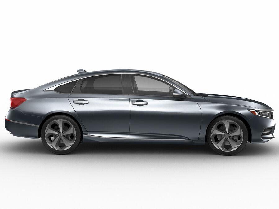 Honda Accord 2018 royalty-free 3d model - Preview no. 3