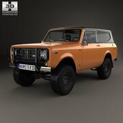 インターナショナルスカウトII 1976 3d model
