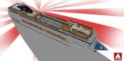 MSC Cruises - Лирика 3d model