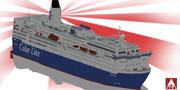 Color Line - Питер Вессель 3d model