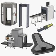 Airport Equipment-collectie 3d model