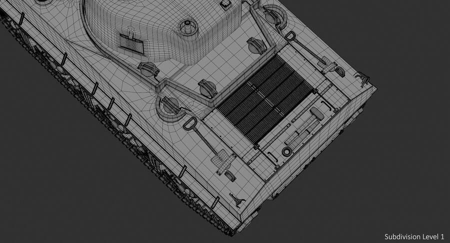 Sherman Tank royalty-free 3d model - Preview no. 22