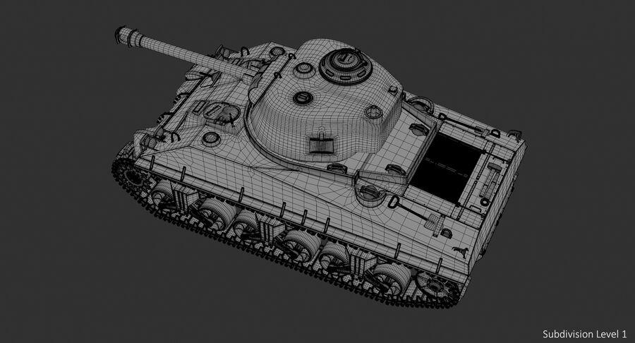 Sherman Tank royalty-free 3d model - Preview no. 16