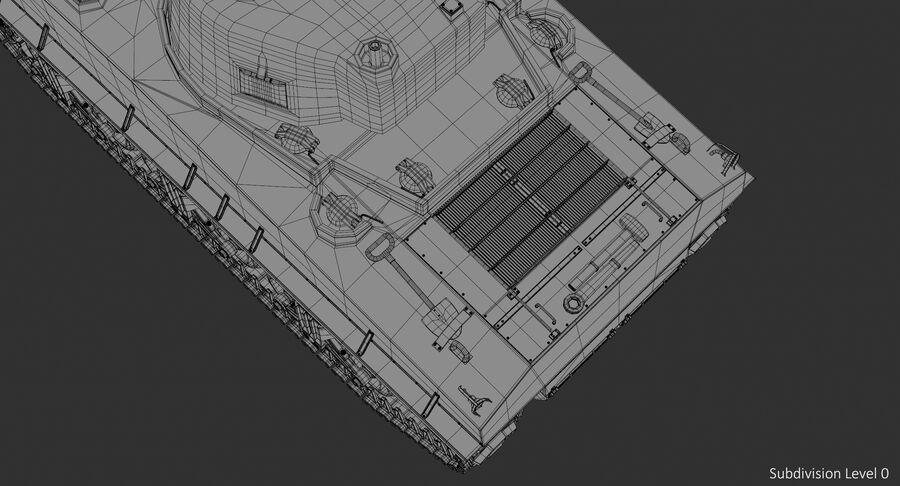 Sherman Tank royalty-free 3d model - Preview no. 21