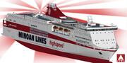 Linie minojskie - Europa Palace 3d model