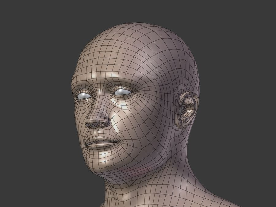 Man 3 Textures royalty-free 3d model - Preview no. 29