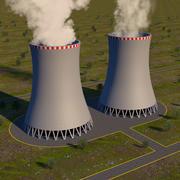 Kärnkylningstorn 3d model