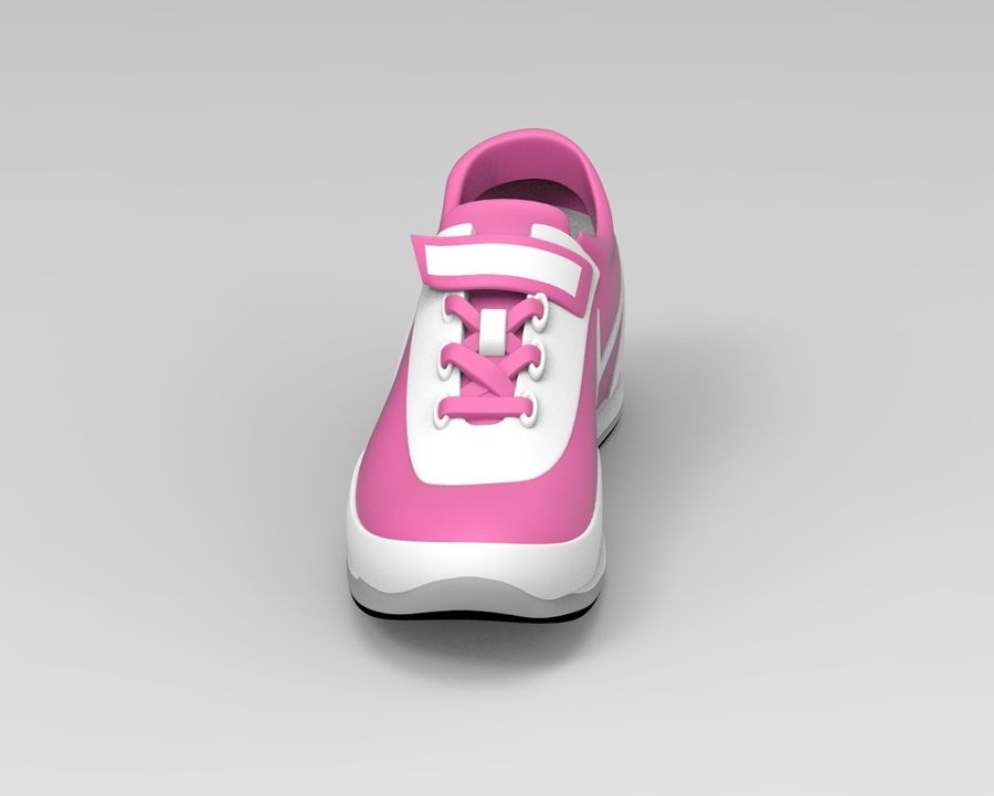 nike shoes royalty-free 3d model - Preview no. 5