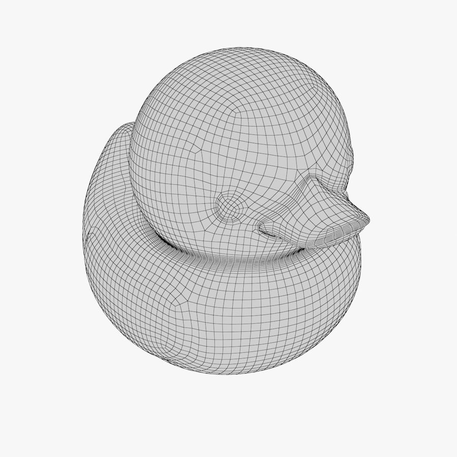 Rubber Duck 01 1 royalty-free 3d model - Preview no. 12