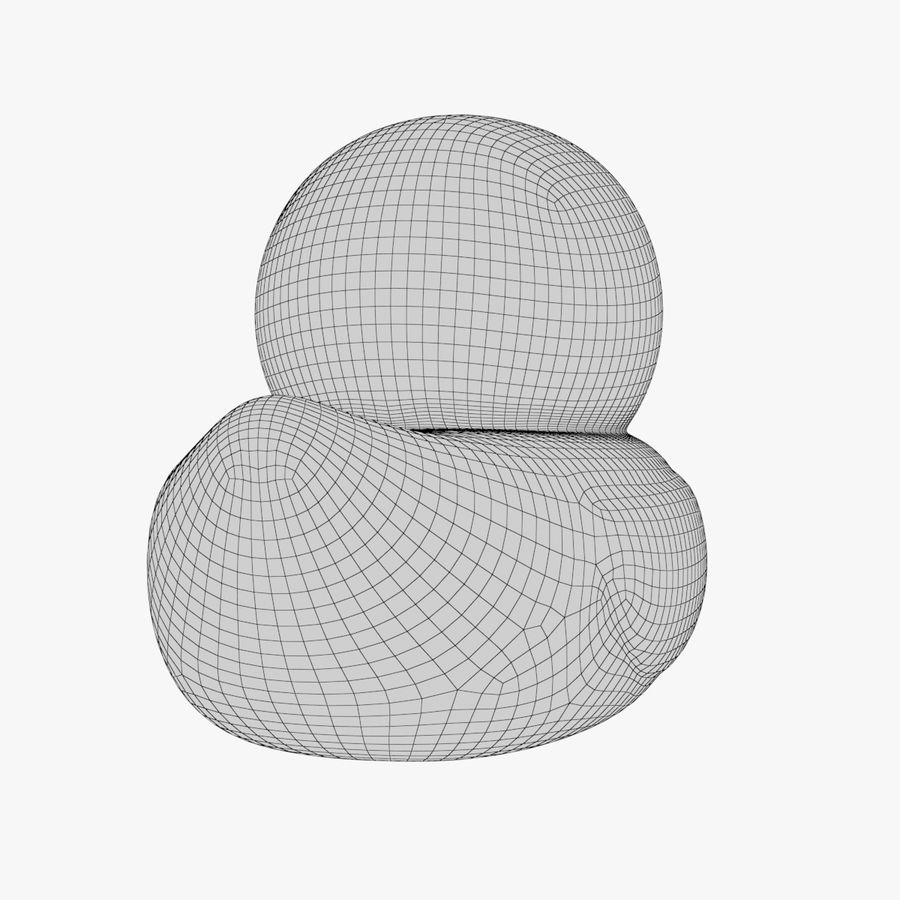 Rubber Duck 01 1 royalty-free 3d model - Preview no. 17