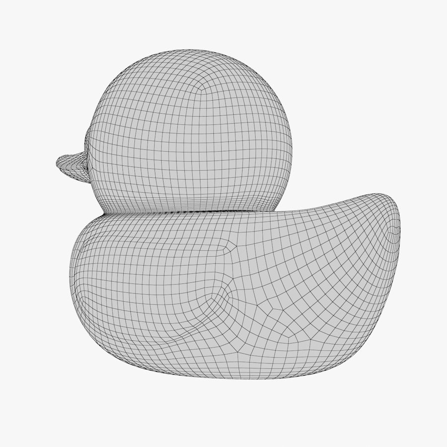 Rubber Duck 01 1 royalty-free 3d model - Preview no. 11