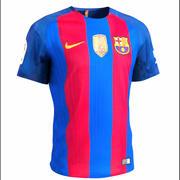Fotbollströja FC Barcelona 3d model