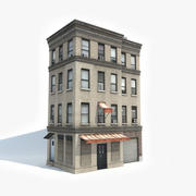 Apartment Building 13 3d model