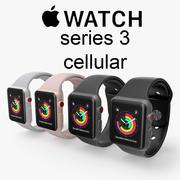Apple bekijkt cellulaire reeks 3 3d model