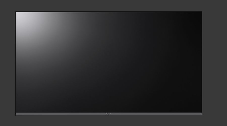 Flat Screen Wall TV royalty-free 3d model - Preview no. 4