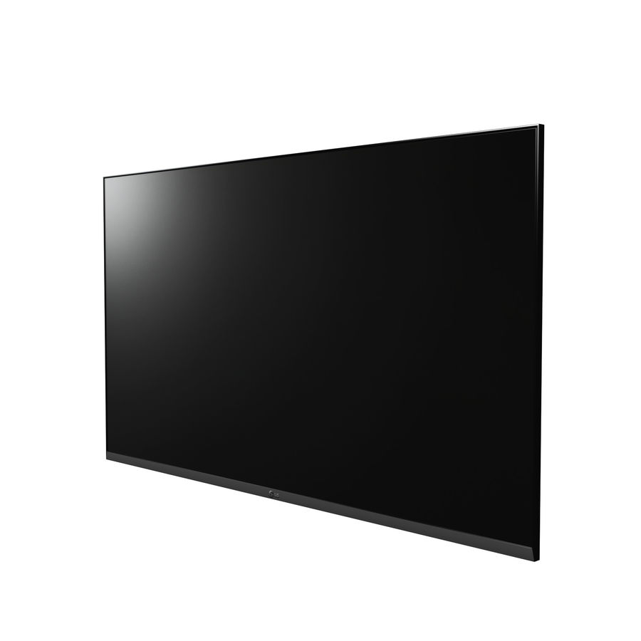Flat Screen Wall TV royalty-free 3d model - Preview no. 2